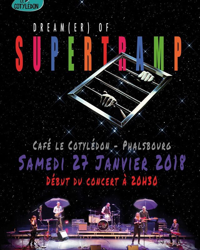 27.01.18 // DREAM(ER) OF SUPERTRAMP